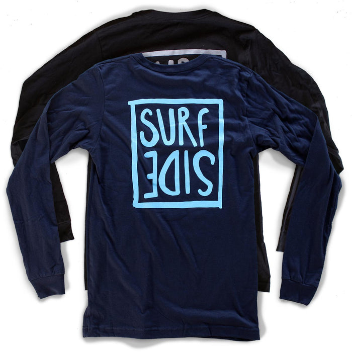 Surf Side (flipt) premium long-sleeved T-shirts back