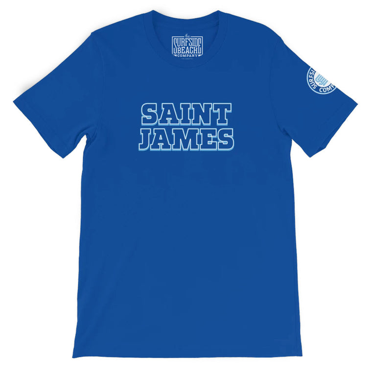 Saint James (Color Block) Unisex T-Shirt