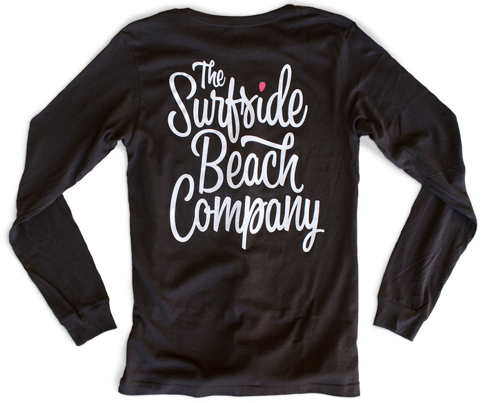 The Surfside Beach Company (Bewitched) premium long-sleeved T-shirt back