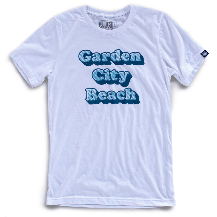 Garden City Beach (Cooper Distressed) Unisex T-Shirt