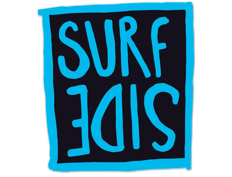 Surf Side (flipt): Glossy Vinyl Sticker
