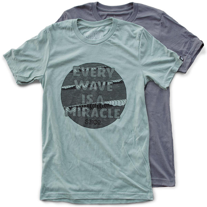 Every Wave is a Miracle premium T-shirts