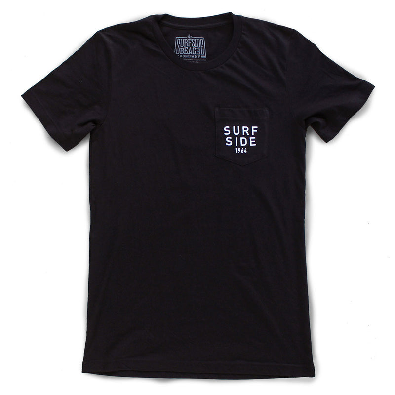 Surfside Beach, SC (Circle Tree) premium pocket T-shirt front