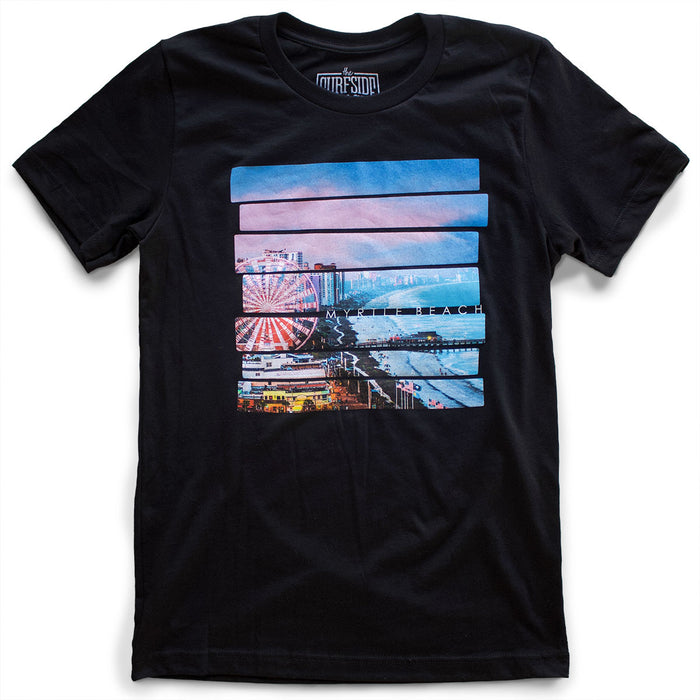 Myrtle Beach boardwalk premium T-Shirt