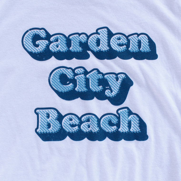 Garden City Beach premium T-shirt sleeve