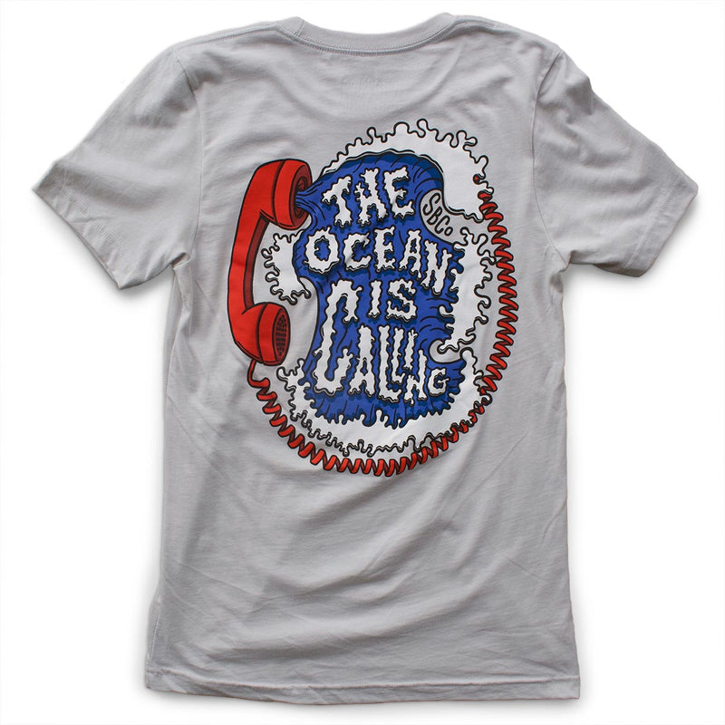 The Ocean is Calling: Unisex T-Shirt