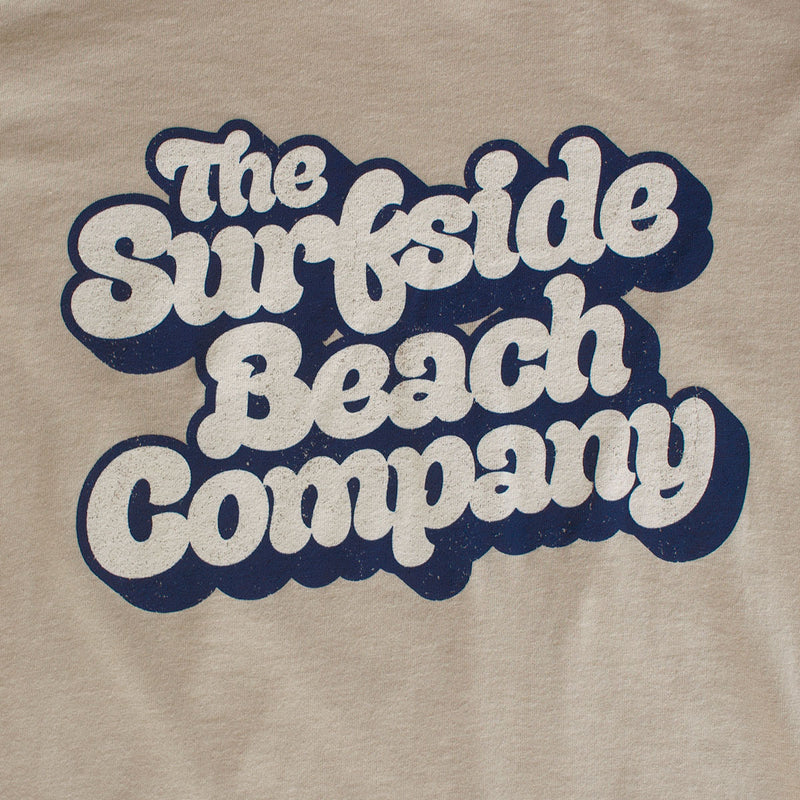 The Surfside Beach Company (Yummy Bubble) premium heather dust T-shirt zoom