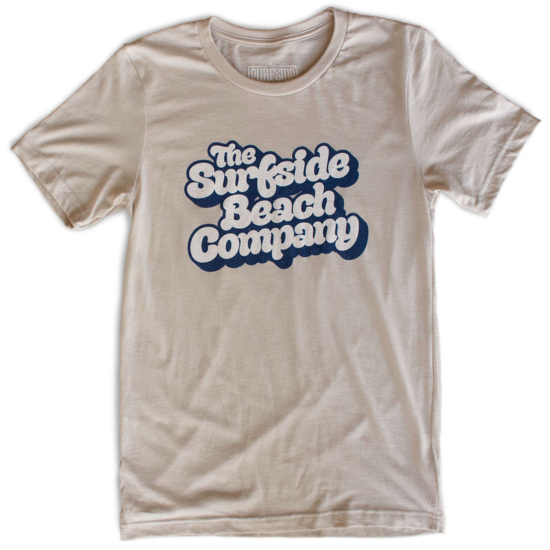 The Surfside Beach Company (Yummy Bubble) premium heather dust T-shirt