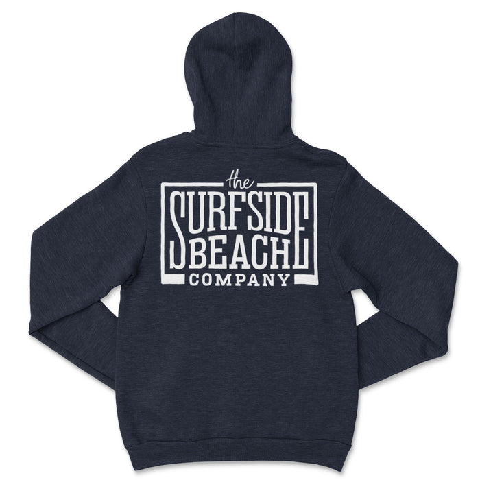 The Surfside Beach Company (Box-Logo) Unisex Pullover Hoodie