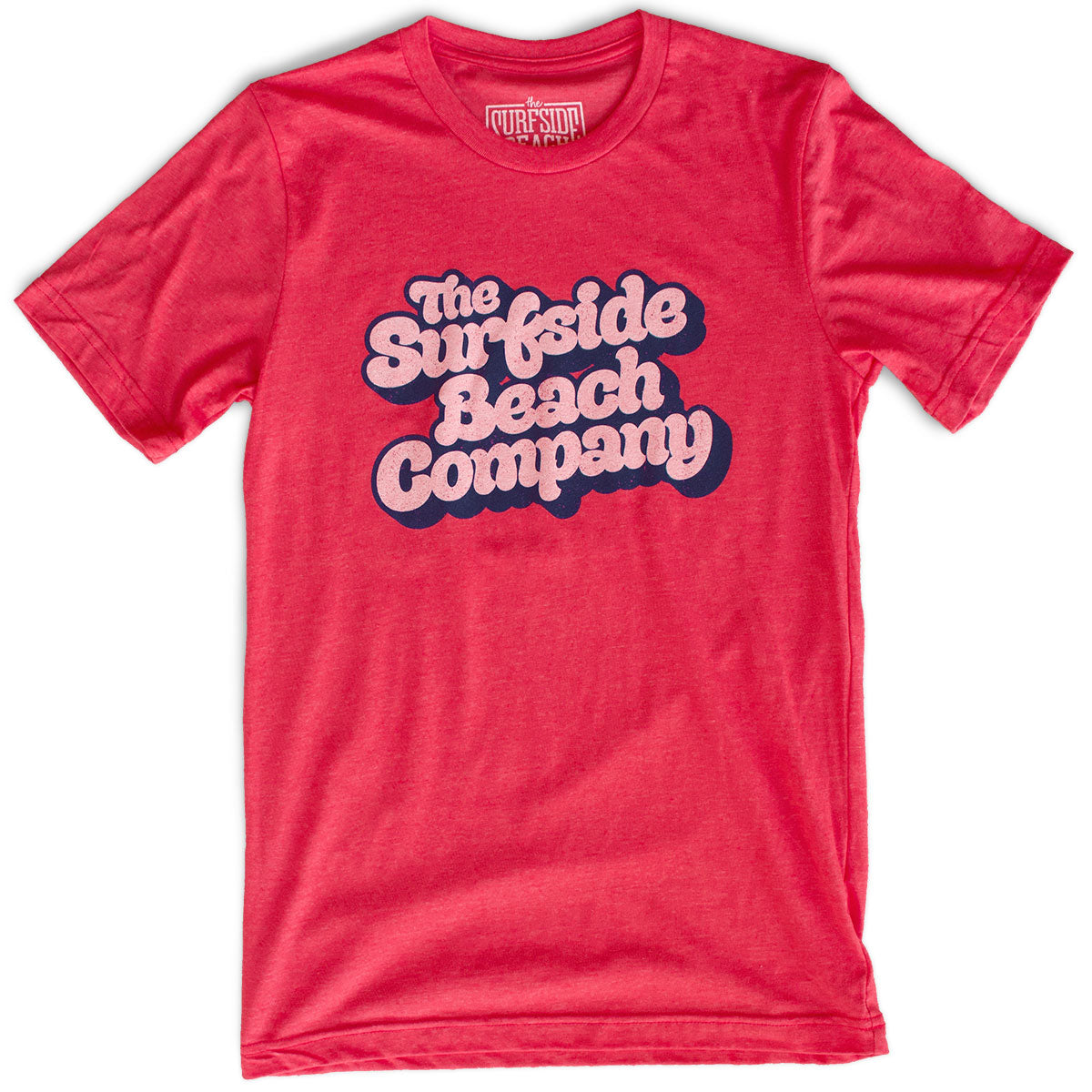The Surfside Beach Company (Yummy Bubble) premium heather red T-shirt