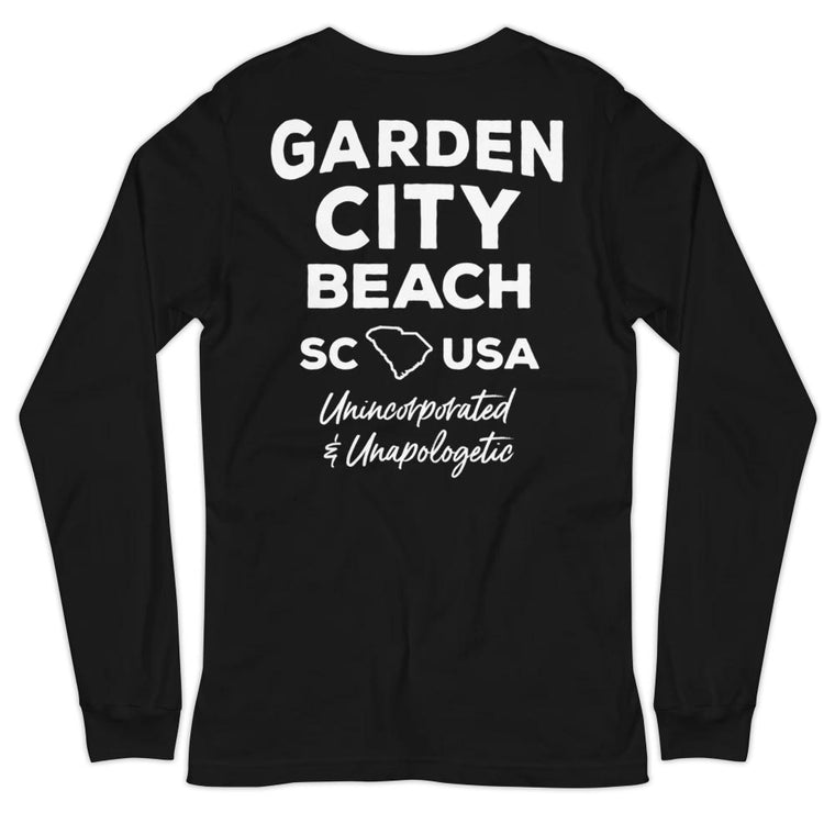 Garden City Beach (Unincorporated & Unapologetic) Unisex Long-Sleeved T-Shirt