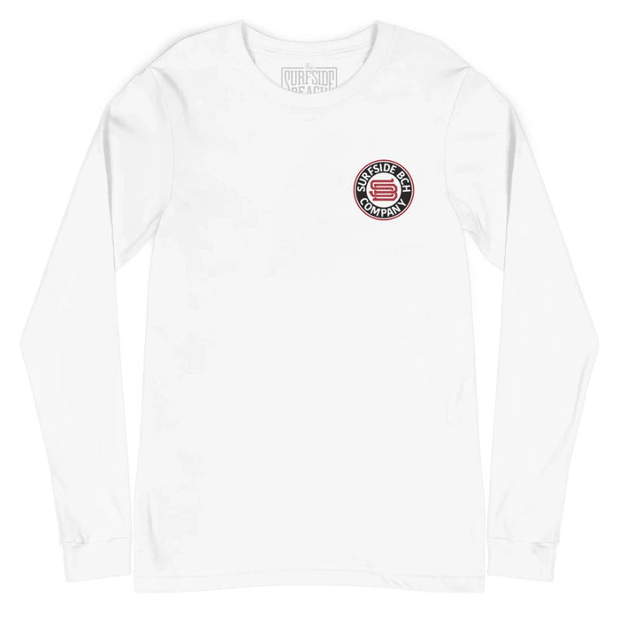 Garden City Beach (Checkbox) Unisex Long-Sleeved T-Shirt