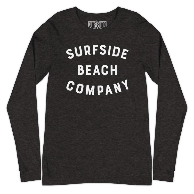 Surfside Beach Company (Weathered Block) Unisex Long-Sleeved T-Shirt