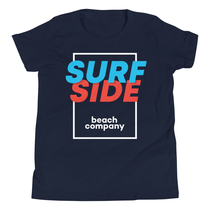 SURFSIDE beach company (shadow box) Youth T-Shirt