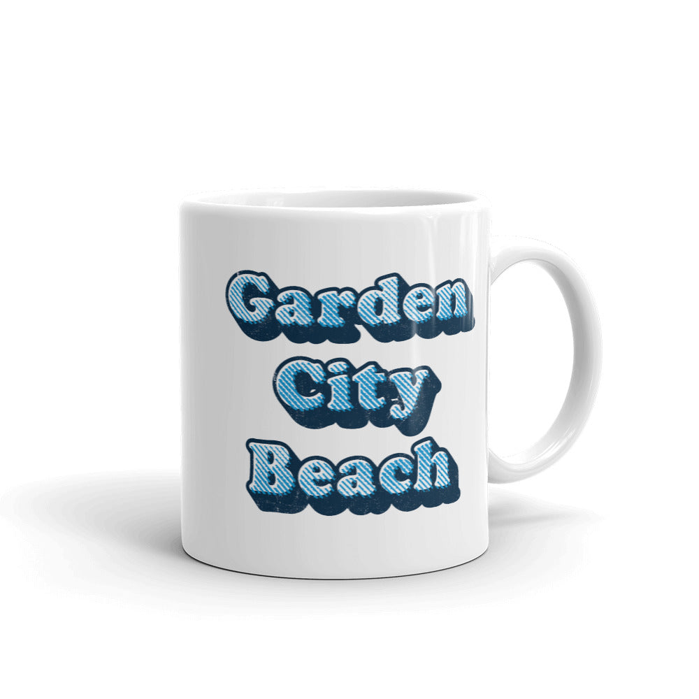 Garden City Beach (Cooper Distressed) Coffee Mug