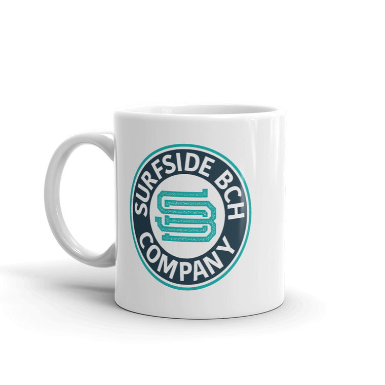 Surfside Bch Company (Seal) Coffee Mug