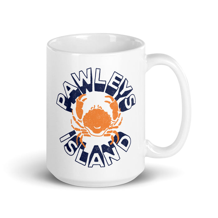 Pawleys Island (Circle Crab) Coffee Mug