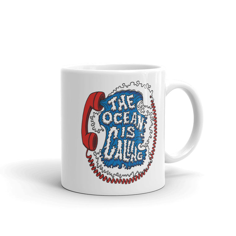 The Ocean is Calling: Coffee Mug