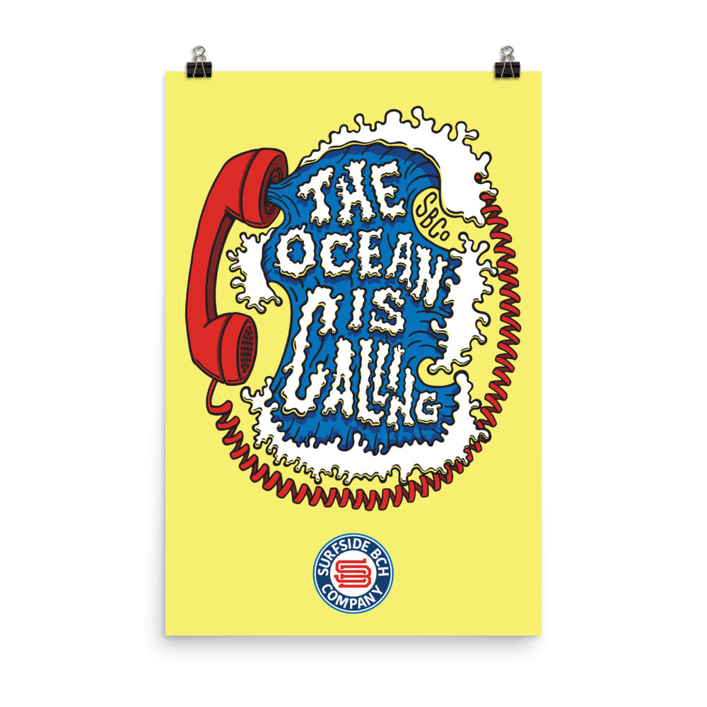 The Ocean is Calling: Poster
