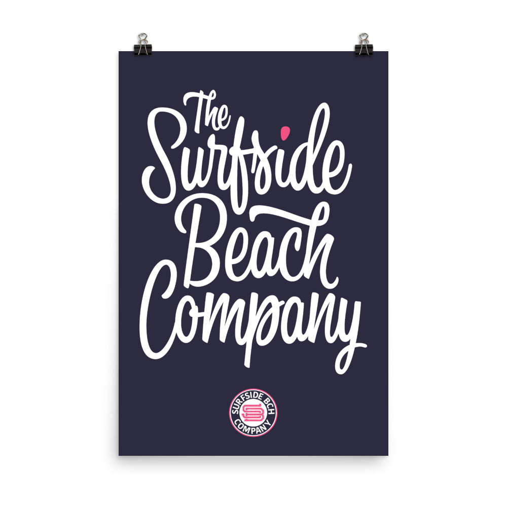The Surfside Beach Company (Bewitched) Poster