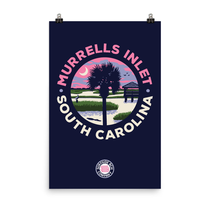 Murrells Inlet (Circle Marsh) Poster