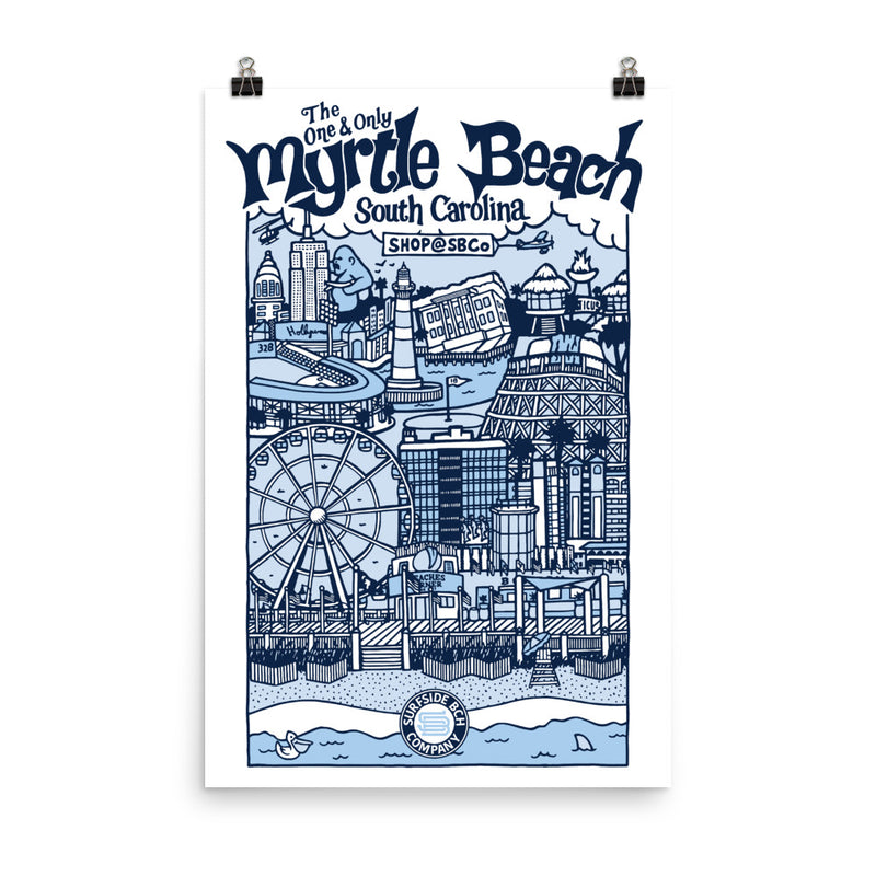 Myrtle Beach (The One & Only) Poster