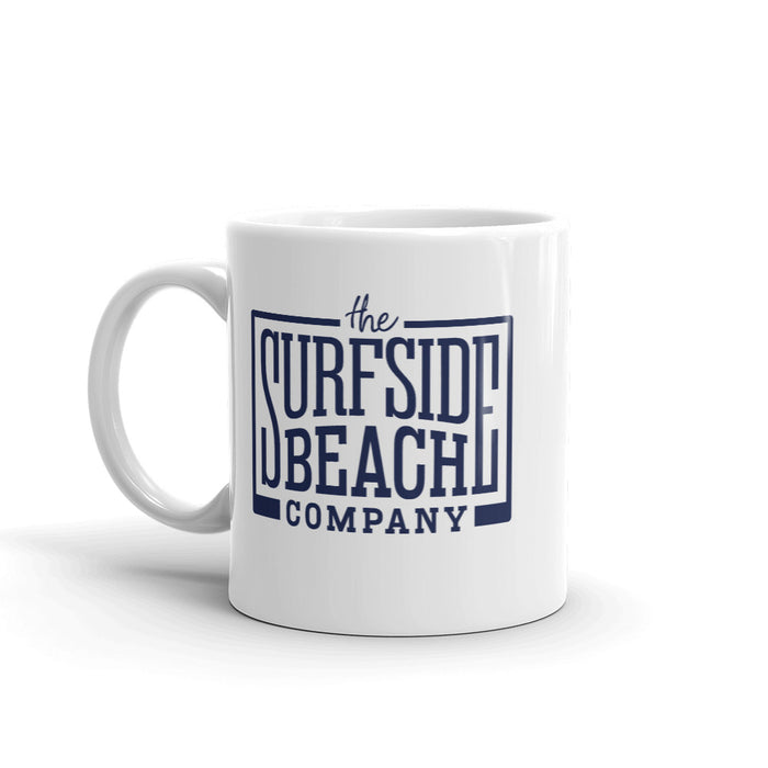 The Surfside Beach Company (Box-Logo) Coffee Mug