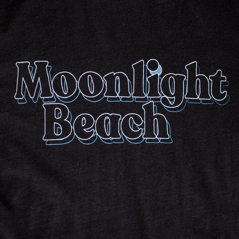 Moonlight Beach premium T-shirt zoom