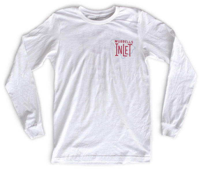 Murrells Inlet premium long-sleeved T-shirt front