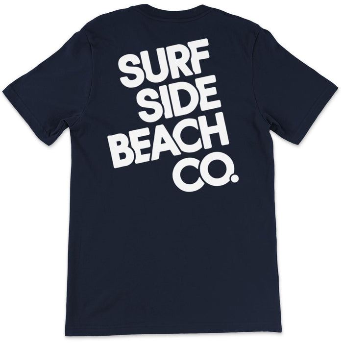 Surf Side Beach Company (Stacked Flynn): Unisex T-Shirt