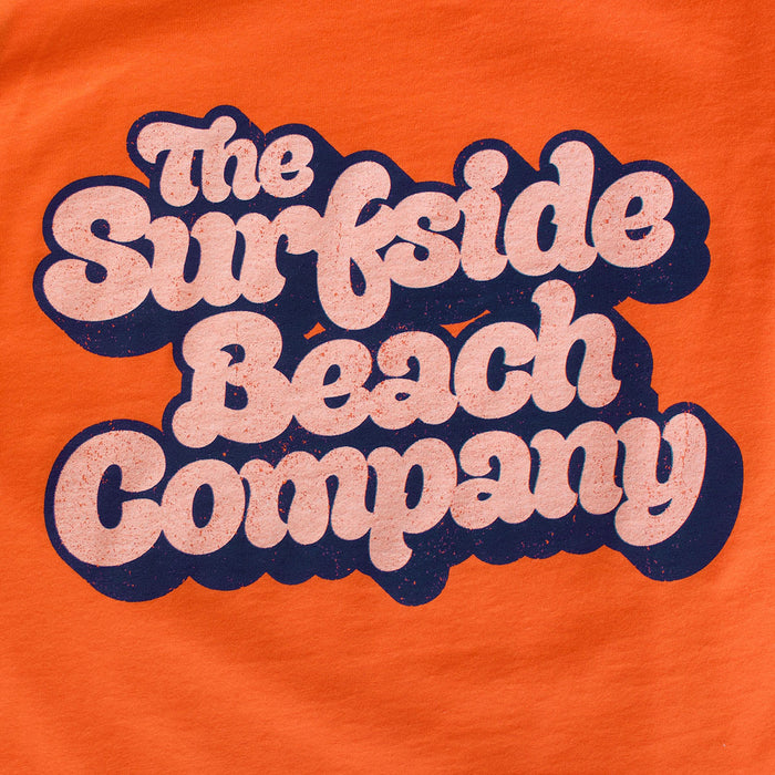 The Surfside Beach Company (Yummy Bubble) premium orange tank-top zoom
