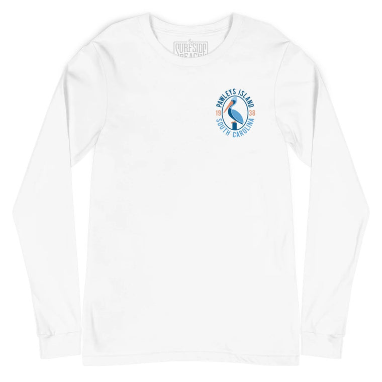 Pawleys Island South Carolina (1938): Unisex Long-Sleeved T-Shirt
