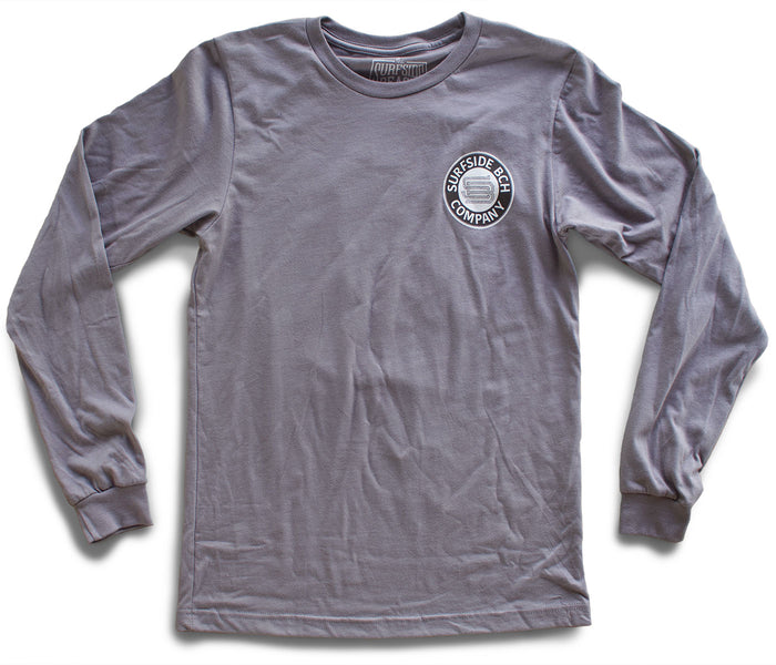 Surfside Beach Company Long-Sleeved storm T-Shirt front
