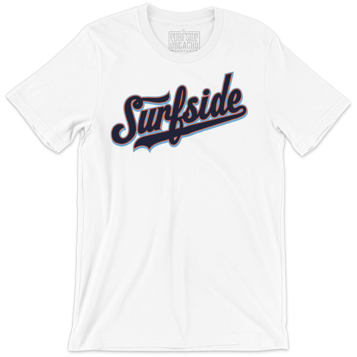 Surfside (Team Script): Unisex T-Shirt