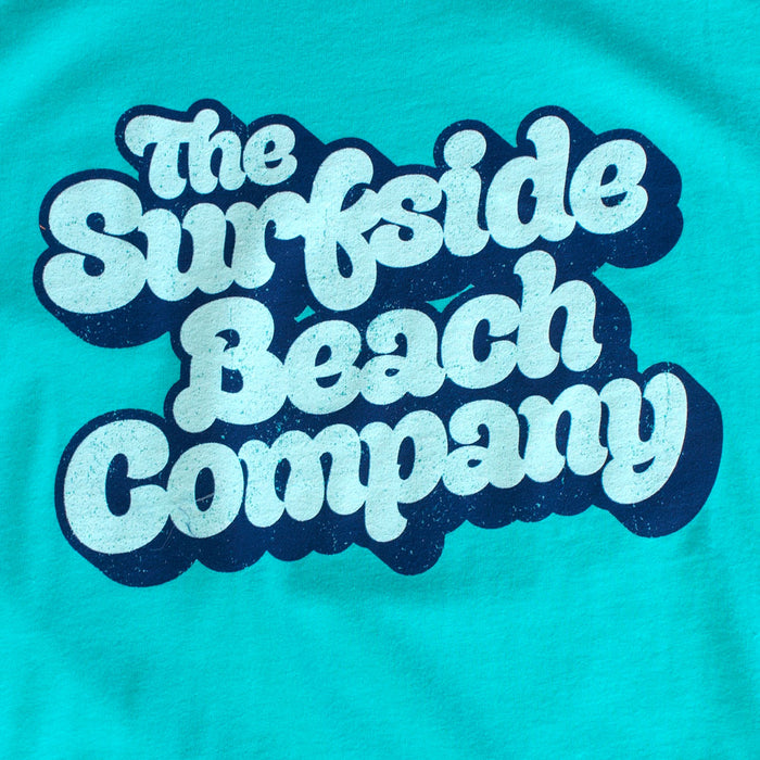 The Surfside Beach Company (Yummy Bubble) premium teal tank-top zoom