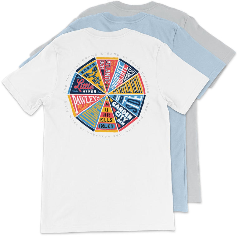 The Fabulous Grand Strand (Pennant Pizza) Unisex T-Shirt