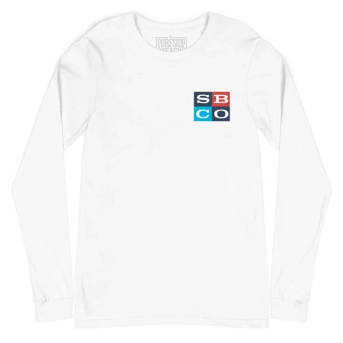 Surfside Beach Co. (Block-45): Unisex Long-Sleeved T-Shirt