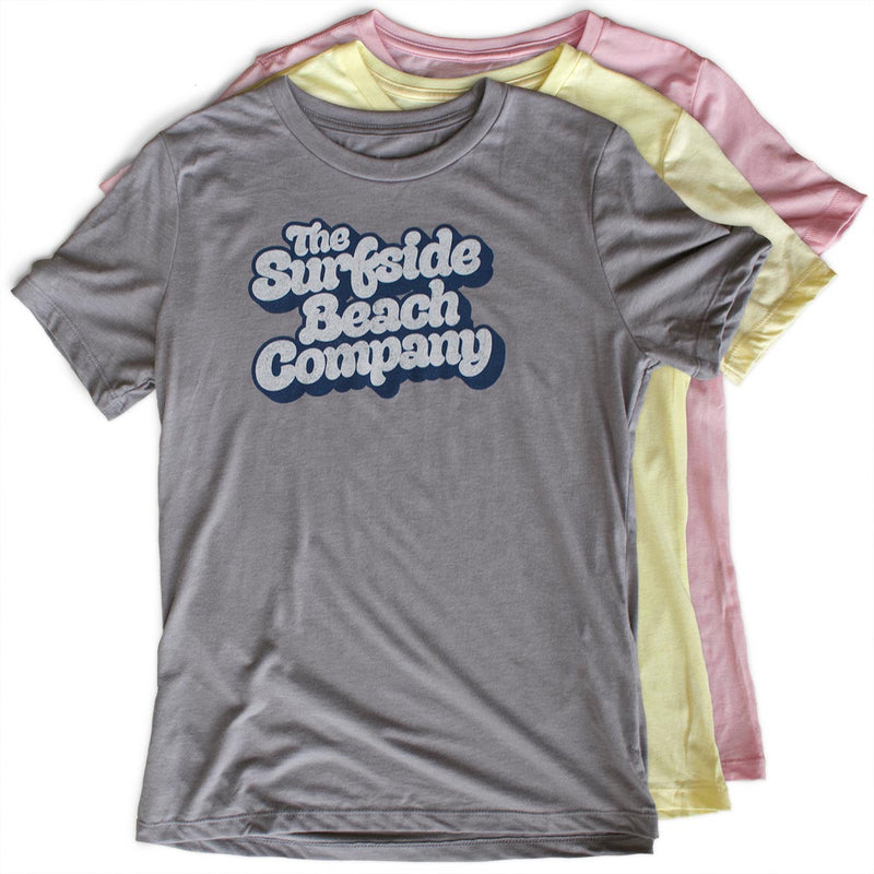 The Surfside Beach Company (Yummy Bubble) premium women's T-shirts