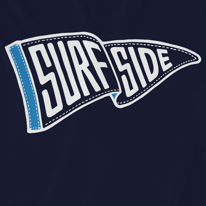 SURFSIDE (Waving Pennant) Unisex Long-Sleeved T-Shirt