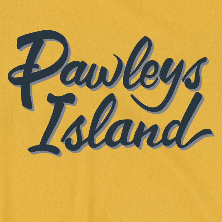 Pawleys Island (Sign Script) Unisex T-Shirt