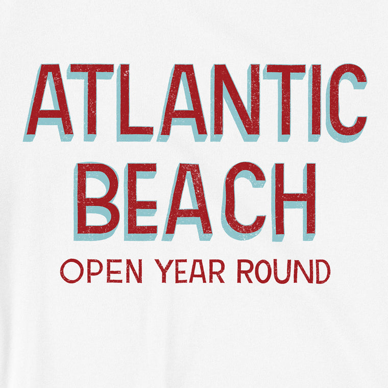 Atlantic Beach (Open Year Round) Unisex T-Shirt