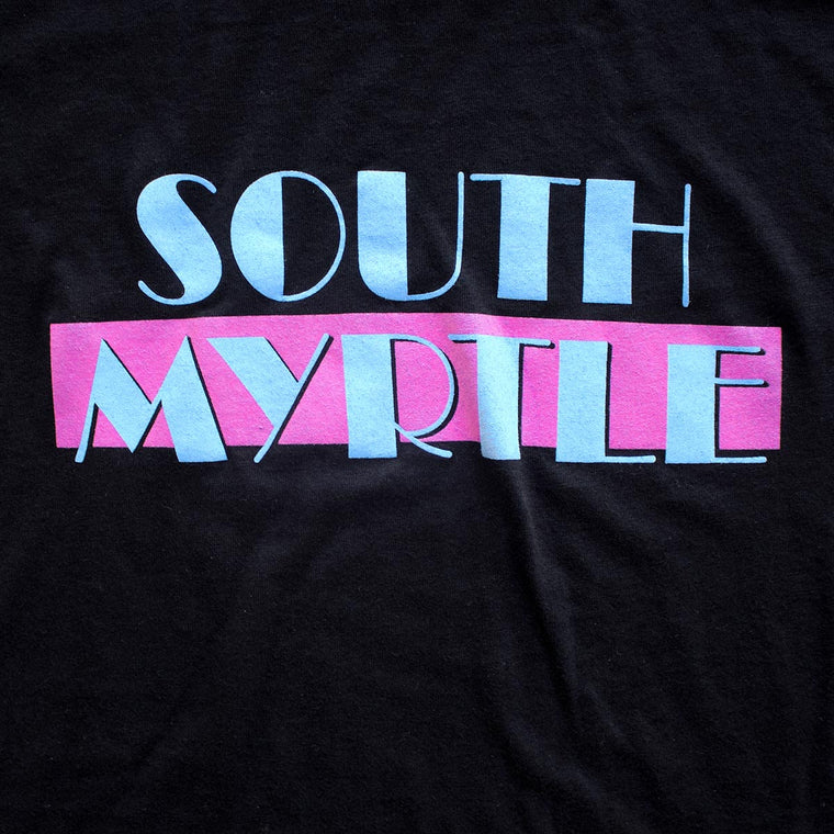 South Myrtle (Miami Vice) premium T-shirt sleeve