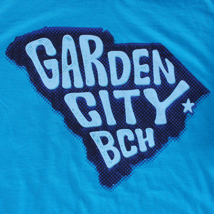 Garden City Beach premium T-shirt zoom