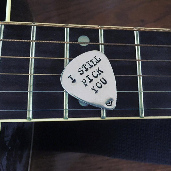 Guitar Pick - Hand to Heart Jewelry
