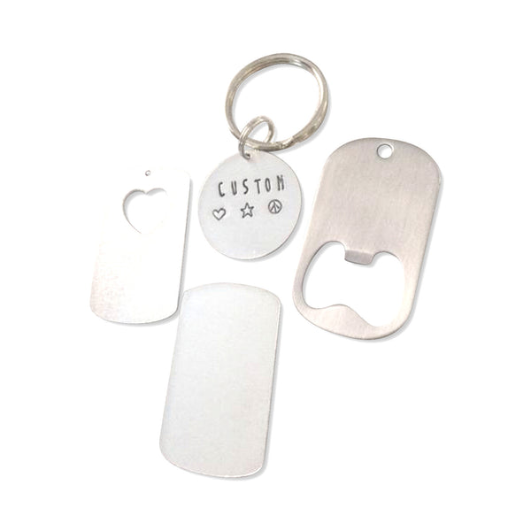 Build your own Custom Keychain - Hand to Heart Jewelry