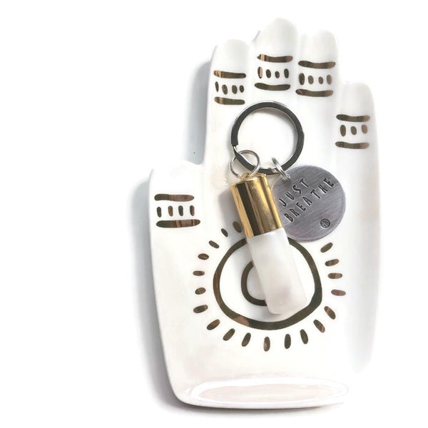 Essential Oil Rollerball Keychain - Hand to Heart Jewelry