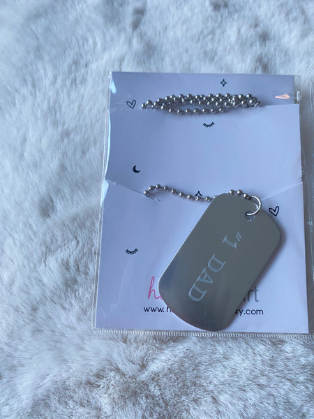 Dad Dogtag Necklaces