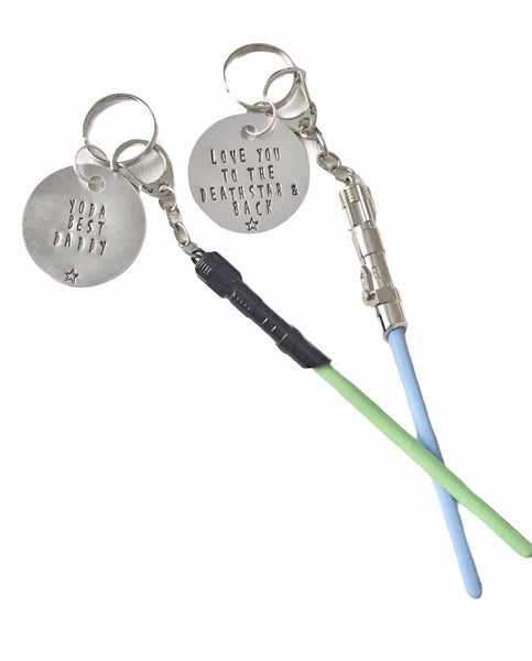 Light Saber - Star Wars Keychain
