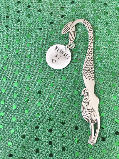 Mermaid Bookmark - Hand to Heart Jewelry