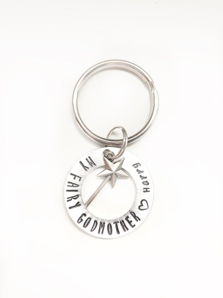 Fairy Godmother Keychain - Hand to Heart Jewelry